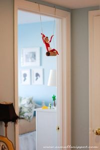 Elf on the Shelf idea