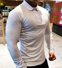Autumn Winter Quick Dry Running Sports Men Polo Shirt,NEW,on Sale! More Info:https://cheapsalemarket.com/product/autumn-winter-quick-dry-running-sports-men-polo-shirt/