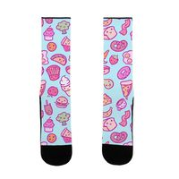 Cute Foods US Size 7-13 Socks $16.99 �œ�Handcrafted in the USA! �œ�