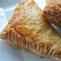 Apple Turnovers | �€œMy family ate these up within minutes. They are best from the oven, slightly cooled with the glaze. Yum Yum!�€	http://allrecipes.com/Recipe/Apple-Turnovers/Detail.aspx