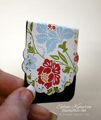 Stamp 4 fun with Selene Kempton: Simple Magnetic Bookmark Tutorial