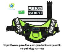 "Safe No-Pull design , Made with breathable material. Comes in multiple designs. These dog harnesses are a ""easy"" for the savvy pet owner! Get yours today! A good small dog harness that fits correctly will remove the strain on your pet's n..."