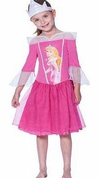 Disney Princess Girls Pink Nightdress - 5-6 Years Be transformed into a real life Sleeping Beauty in this beautiful pink nightie. The frill detail adds a touch a glamour but the soft material ensures a cosy nights sleep. Also includes a crown fit for http...