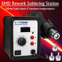 858D Hot Air Gun SMD Rework Station Iron Solder Soldering Welding Machine