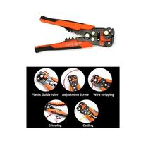Multi functional Automatic Cable Wire Stripper Plier Automatic Cable Wire Stripper Plier Self Adjusting Crimper Tool $17.90