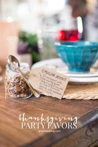 Treat your guests to something extra special this year with these DIY Thanksgiving Party Favors!
