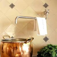 Pot filler over the stove top.