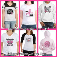 Shop Breast Cancer shirts, Breast Cancer tees, Breast Cancer awareness apparel and unique Breast Cancer t-shirts and tees to promote, advocate and support Breast Cancer Awareness with our unique and stylish Breast Cancer Awareness shirts, tees, merchandis...