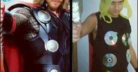 Thrift Thor.. I can't even tell which is which!! Almost..