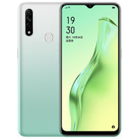 OPPO A8 CN Version 6.53 inch HD+ 4230mAh Android 9.0 12MP AI Triple Rear Cameras 4GB 128GB Helio P35 Octa Core 4G Smartphone