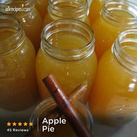 "�€œThis is the best recipe I've come across for apple pie. We chill it and serve it as shooters at all our parties.�€ �€""Laura Harman 