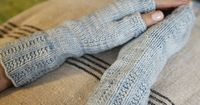 Fingerless mitts - pattern + yarn - sale ends 2/28!