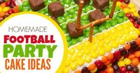 This delicious football party cake is sure to wow your guests!