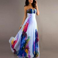 Vogue Sexy Women's NEW Vintage Sleeveless Floral Long Maxi Dresses $20.24