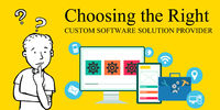 Custom software can propel your business to newer heights. Your business needs are unique and they may not always be addressed by existing software and tools that are available in the market.