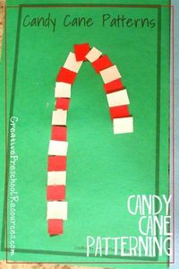 Candy Cane Paper Patterns