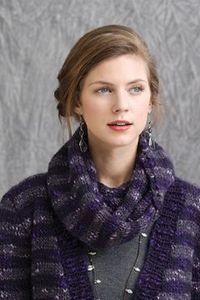 Tahki Stacy Charles, Inc., free pattern: Park City Cowl on their site