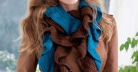 Double Your Ruffles Crochet Scarf: free easy level pattern