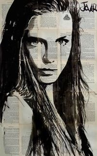 Buy Prints of icelandia (SOLD), a Ink on Paper by LOUI JOVER from Australia. It portrays: Women, relevant to: beauty, louijover, jover, woman, Iceland, collage,