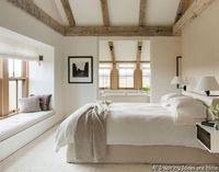 You don't have to live on a farm to decorate your bedroom in farmhouse style and you also don't have to live in a rural area. You just need to embrace the casua