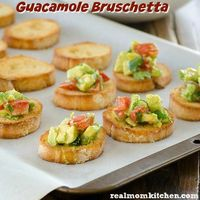 Guacamole Bruschetta and Giveaway | Real Mom Kitchen
