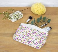Penis Makeup Bag, Cute Pencil Case, Funny Cosmetic Bag, Toiletry Bag Women, Small Purse Pink, Accessory Pouch W T-Bottom $13.95