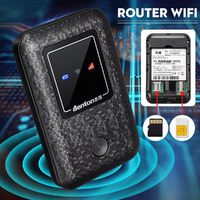 150Mbps 4G Wifi Portable Wireless Mobile Router Support SIM And TF