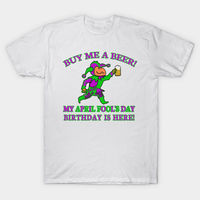 April Fool's Day Birthday T-Shirt