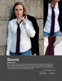 Dennis necktie pattern PDF by kathleendames on Etsy, $6.00