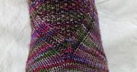Wonderful top down sock on Ravelry.