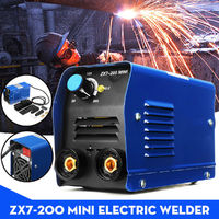ZX7-200 220V 200A Portable Electric Welding Machine IGBT Inverter MMA W/ Insulated Electrode