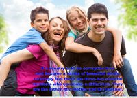 Beautiful wallpaper with family quote