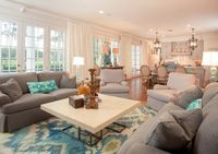 House of Turquoise: Cindy Barganier Interiors. #laylagrayce #living