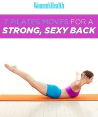 Pilates Moves for a Strong, Sexy Back   Women's Health Magazine