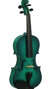 Blue Moon Music Blue Moon 3/4 Size Violin Outfit - Green Blue Moon 3/4 Green ViolinMetallic green finish violin outfit, Solid spruce top, maple body.Complete with Case (Barcode EAN = 5051293000852). http://www.comparestoreprices.co.uk//blue-moon-m...
