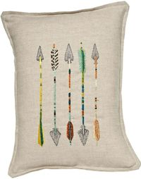 Coral and Tusk five arrows pillow
