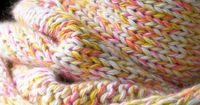Knitting with many colors
