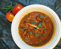 Mutton masala (lamb masala) recipe with step by step instructions to make soft and tender mutton masala pieces at home. Easy mutton curry recipe from scratch. This mutton masala recipe is made by using a cooker