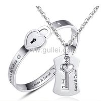Personalized Lock and Key Jewelry Gift for Girlfriend Boyfriend https://www.gullei.com/lock-and-key-jewelry-gift-for-girlfriend-boyfriend.html