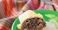 Ever since I made a huge batch of these refried bean and cheese burritos, wrapped them in foil, and threw them in the freezer, coming up with lunches has been a