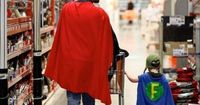 Redditor resgestae, who always has his camera with him, captured this awesome moment while shopping at a Home Depot. He titled his photo, �€œI know a good dad when I see one.�€ We couldn't agree more. [via Neatorama]