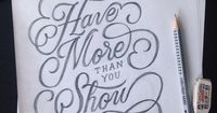 """""""Have more than you show"""" by Kenny Coil"""