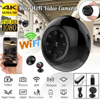 SQ17 Mini IP Camera Wireless WiFi HD 1080P 120° Home Security Camera Night Vision
