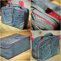 bag from old jeans