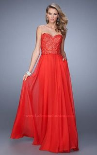La Femme 21360 Red Long Formal Dresses for 2015 On Sale