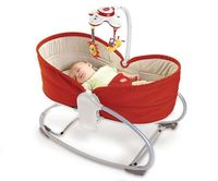 3-in-1 Rocker Napper - RED - Baby Gear... Would have loved this for my Juanito!