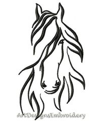 Horse embroidery, embroidery design horse, design horse, machine embroidery horse, embroidery horse, horse pattern, embroidered horse $4.50