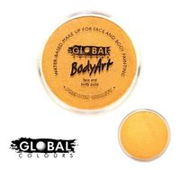Global Body Art Face Paint - Metallic Gold 32gr - https://bit.ly/2vNsnbf