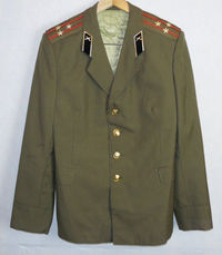 Russian Soviet Army Military Daily Uniform Military Jacket Tunic Blazer Colonel $41.00