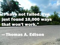 Motivational don`t give up quote